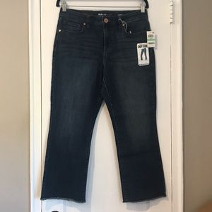 NWT Style & Co Crop Flare Jean